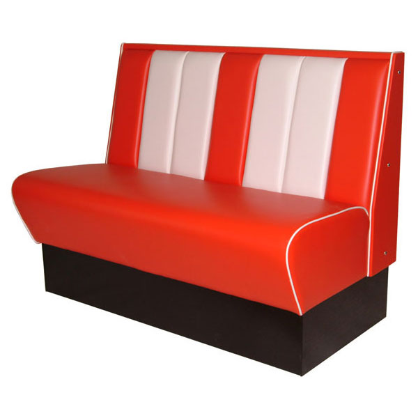 Super American Diner Bench Seating 1200Mm Contract Furniture Creativecarmelina Interior Chair Design Creativecarmelinacom