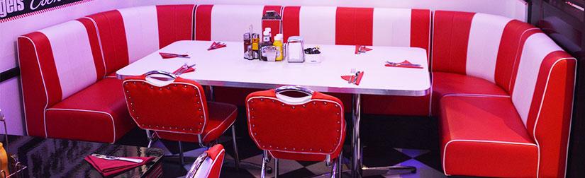 Sensational American Diner Furniture Contract Quality For Restaurants Creativecarmelina Interior Chair Design Creativecarmelinacom